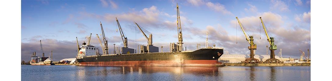 Bateau industrie port